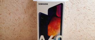 Смартфон Samsung Galaxy A60